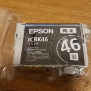新品未開封 EPSON 純正インク ブラック ICBK46