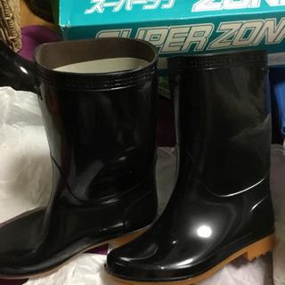 値下げ 未使用②スーパーゾナ耐油 黒 22.5
