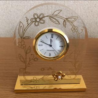 (ミキモト)  置き時計