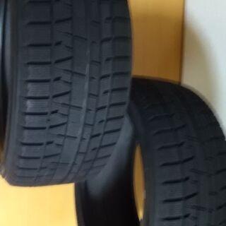 中古スタッドレスタイヤ2本 アイスガードIG50プラス 225/...