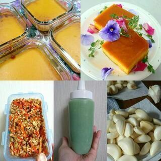 発酵料理教室「にんにく麹作り&納豆麹作り&かぼちゃプリン作り」