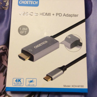 USB HDMI PDアダプター USB C to HDMIケーブル