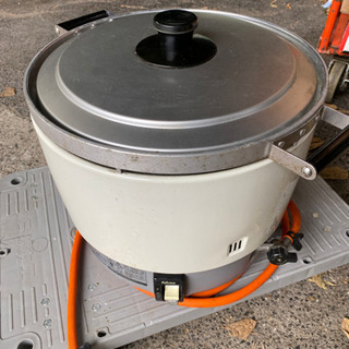 パロマ3升炊きプロパンガス用炊飯器PR-6DSS-1