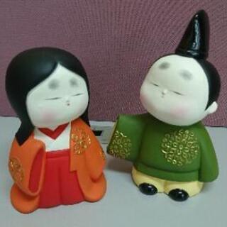 お雛様 雛人形 ひな祭り 陶器 日本人形