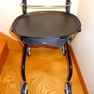 竹虎 レッツゴーミニ コンパクトな室内専用歩行車 福祉用品 USED