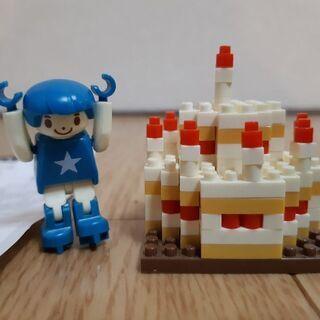 nano block ケーキ ハッピーバースデーボーイ