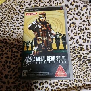 PSP KONAMI METAL GEAR SOLID