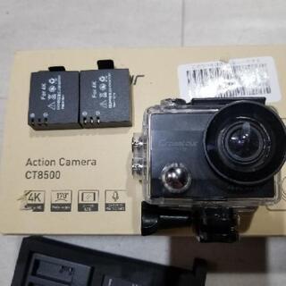 【交渉中】4K動画 アクションカメラ