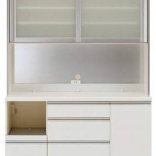 パモウナ 食器棚 IK 1400R  日本製 美品