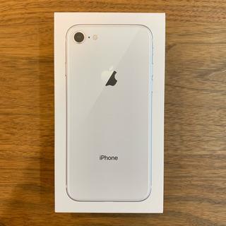 iPhone 8 Silver 64 GB SIMフリー ...
