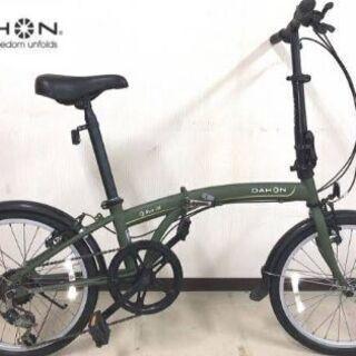 【1月11,12日引取希望】ダホン 折りたたみ自転車