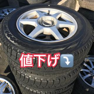 値下げ⤵️215-65/16 アルミホイール付きスタッドレスタイヤ