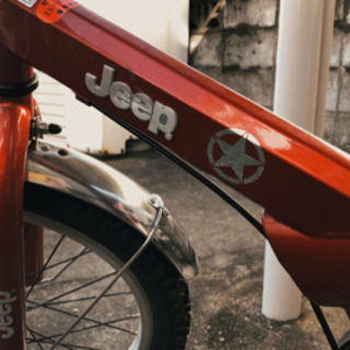 Jeep・ジープ・マウンテンバイク・KIDS・赤・16インチ