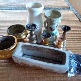 仏壇周辺ろうそく線香ケースセット