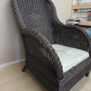 ◇南国にあるような椅子です・タークブラウン系◇