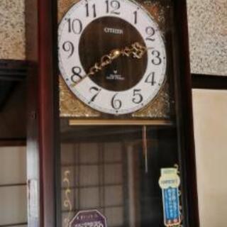 昭和 アンティーク 柱時計