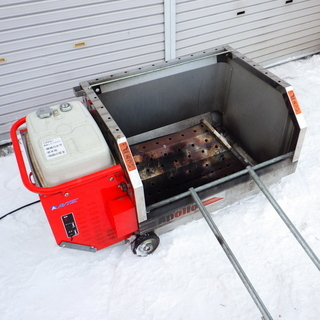 アベテック 移動式融雪機 AST-101 /SL2
