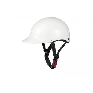 新品/未使用!半キャップヘルメット ホワイト