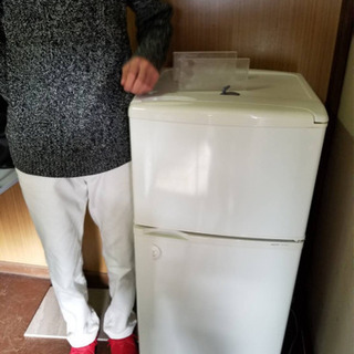 【正常稼働】109L 冷蔵庫 - 家電