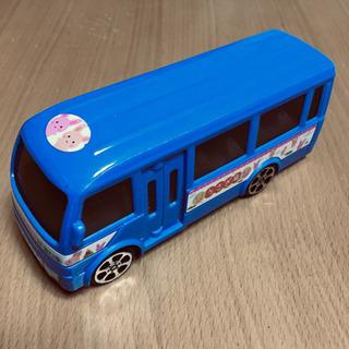 ♪プラスティック おもちゃ バス(うさぎ号) 13.5cm 60g