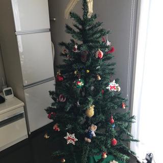 150センチクリスマスツリー 飾りたくさん!