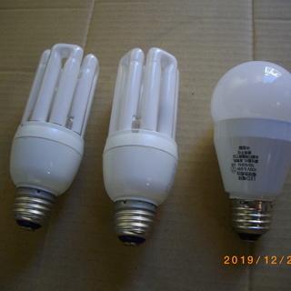 省エネ、LED電球など3個セット、新古品