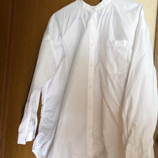 ユニクロ 白シャツ XL