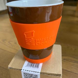 ミスド シリコンカバー付きカップ