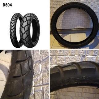 ダンロップ D604 バイクタイヤ