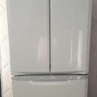 三菱4ドア冷蔵庫 400L MR-F40S-W 観音開き 11年...