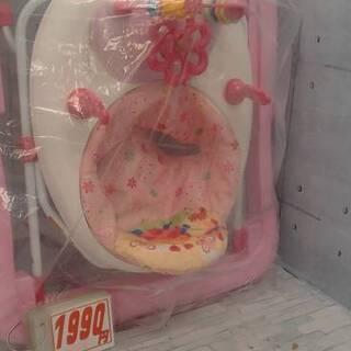 12/28 歩行器ピンク1990円 トミーヒルフィガーソックス未...
