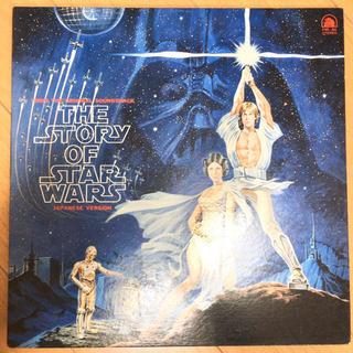 スターウォーズ ストーリー LP レコードの画像
