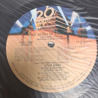 スターウォーズ ストーリー LP レコード - 本/CD/DVD