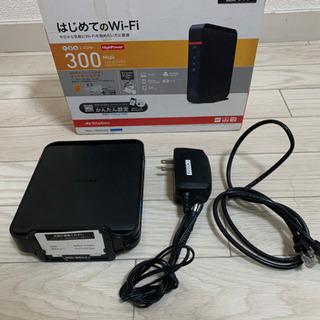 バッファロー ルーター WHR-300HP2 美品 格安