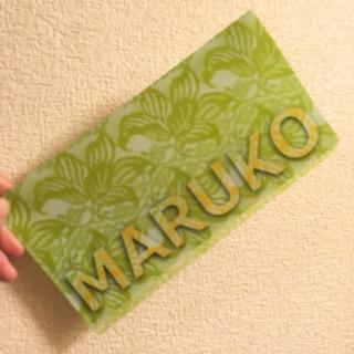 MARUKOの非売品マスクケース