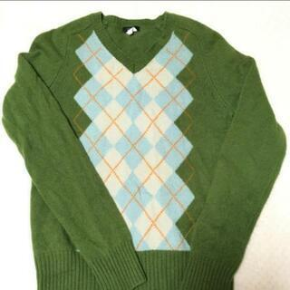 jcrew アーガイル ウール セーター