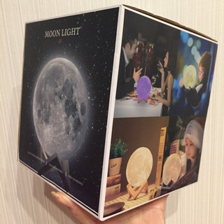 月 ライト 間接照明 LED 充電可能 ムーンライト 月型 照明...