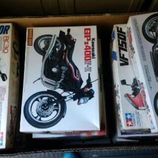 《決まりました!》バイク等のプラモデル
