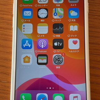 【値下げ!】iPhone 6s 16GB シルバー SIMフリー版