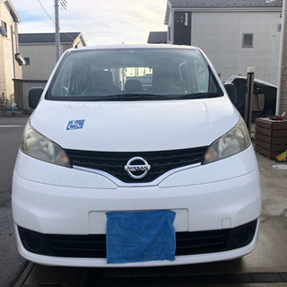 NV200 チェアキャブ 7人乗り 介護タクシーや車椅子送迎車に!
