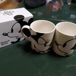 FrancfrancのMickey&Minnieのマグカップ