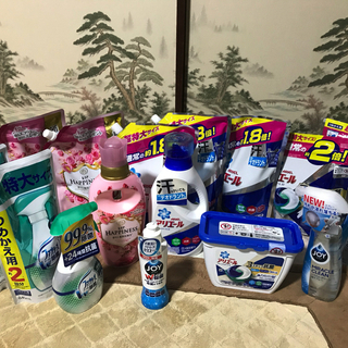 P&G洗剤大量セット アリエール・レノア・ファブリーズ・ジョイなど