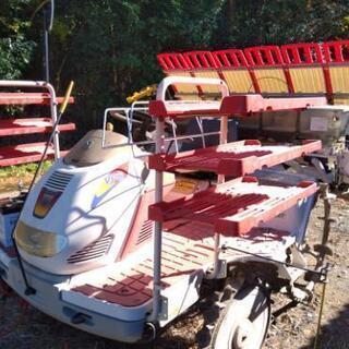 ヤンマー田植機6条 施肥機能 除草剤粒剤散布機