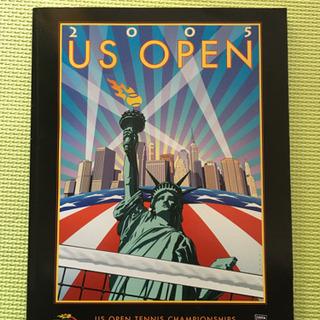 【中古】US OPEN 2005 全米オープン 大会 パンフレッ...