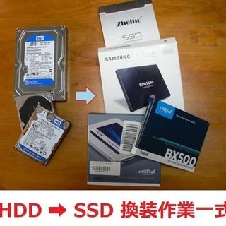 ハードディスク HDD を SSD (Samsung 500GB...