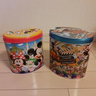 ディズニー ふた付き空き缶