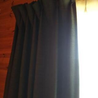 遮光 防炎 ロングカーテン