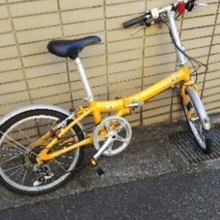 自転車 ダホン(DAHON)ギア付き折り畳み自転車