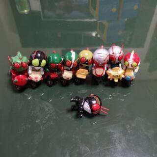 仮面ライダー2等身バイクフィギュア