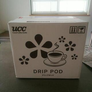 ucc ドリップポッド コーヒーメーカー